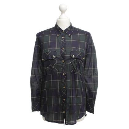 Isabel Marant Etoile geruit overhemd