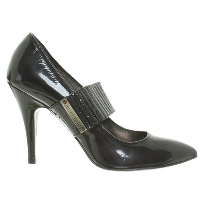 Just Cavalli Pumps aus Lackleder
