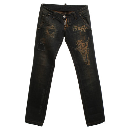 Dsquared2 Jeans im Used Look