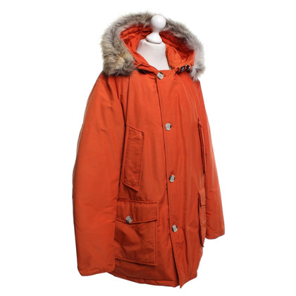 Woolrich Parker in Orange