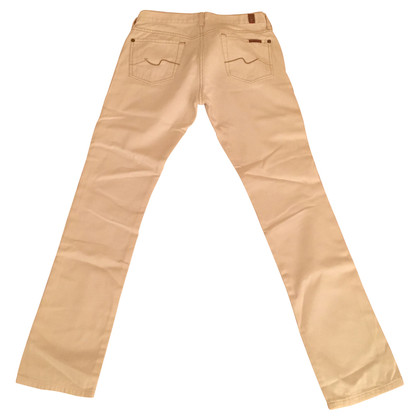7 For All Mankind Pantaloni bianchi