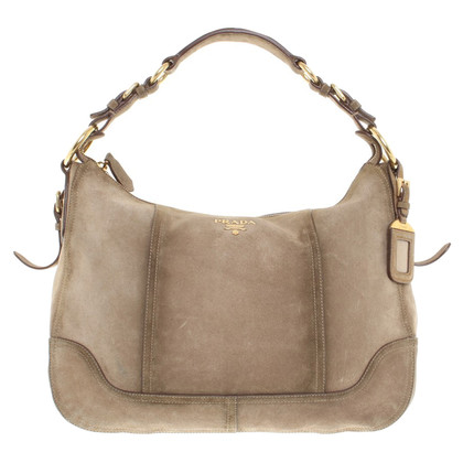 Prada Handtasche aus Wildleder