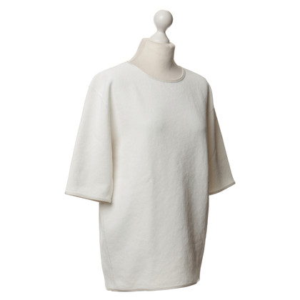 Theyskens' Theory Korte mouw pullover in wit