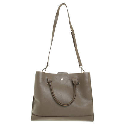 Aigner Handtasche in Taupe