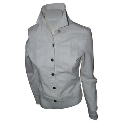 Blumarine Weiße Jeansjacke
