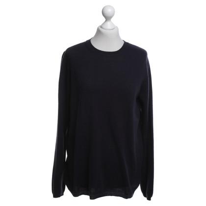 Jil Sander Knit sweater in dark blue
