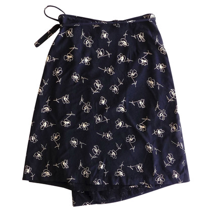 Max Mara Silk skirt with print
