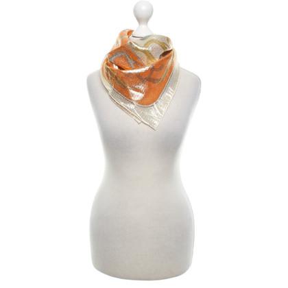 Hermès Tuch mit Effektgarn