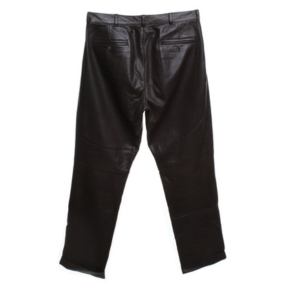 Ralph Lauren Leather pants in brown