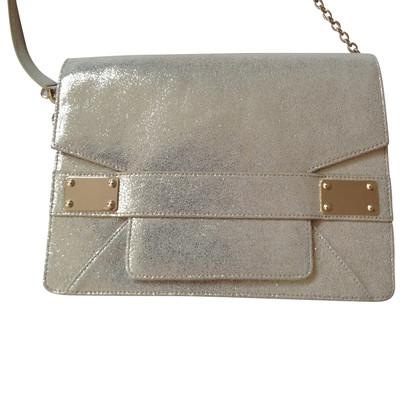 Pollini Silberfarbene Handtasche