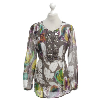 Luisa Cerano Blouse with pattern