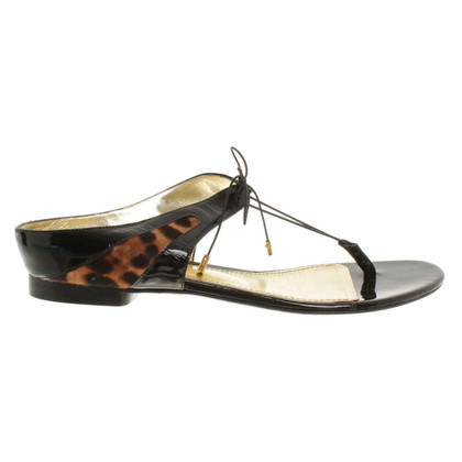 Dolce & Gabbana Flat sandals in black