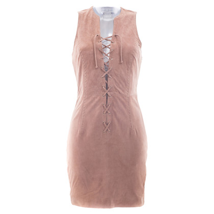 Paul & Joe Suede dress with lacing