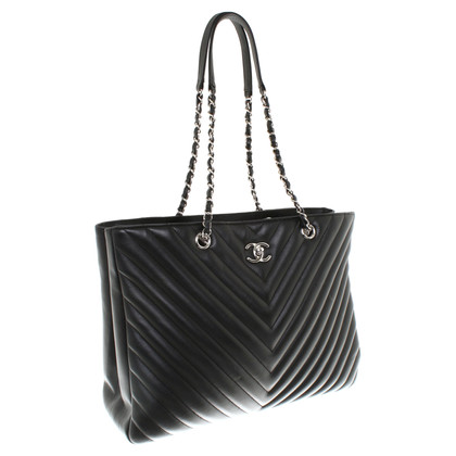 "Chanel ""Gran Shopping Tote"" in pelle di agnello"