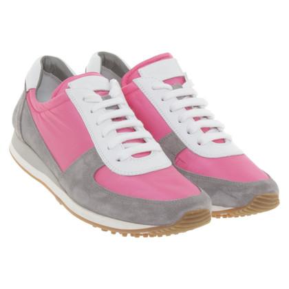 Car Shoe Lace-up shoes in tricolor