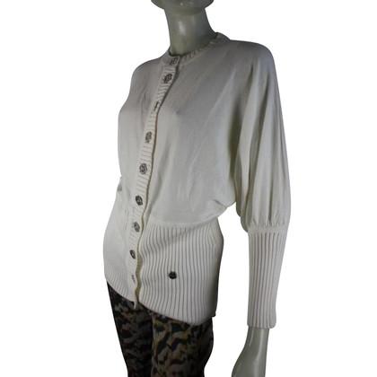 Karen Millen Off white cotton top