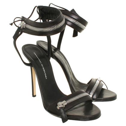 Ermanno Scervino Sandalo tacco alto nero