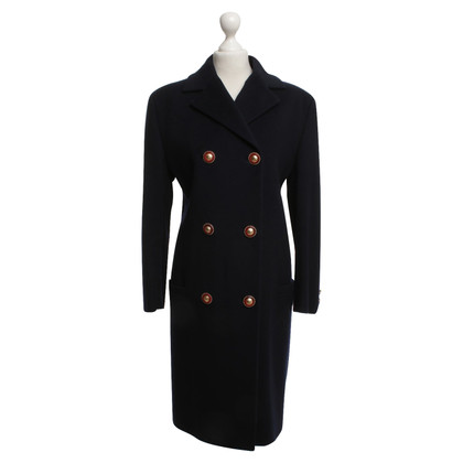 Gianni Versace Coat in dark blue