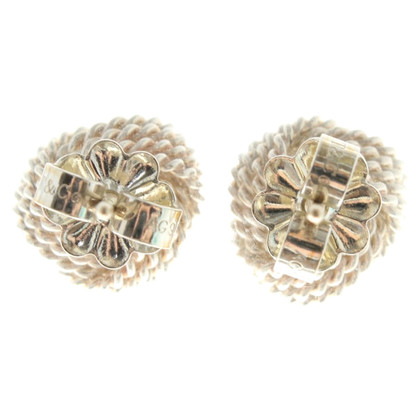 Tiffany & Co. Knot earrings made of silver