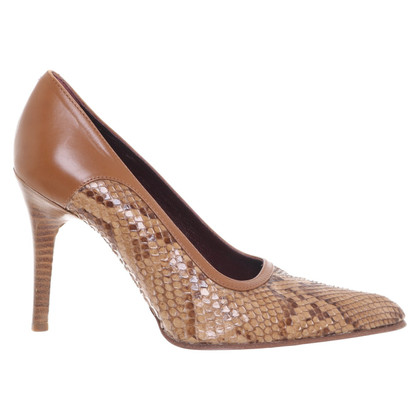 Tod's pumps with reptile leather
