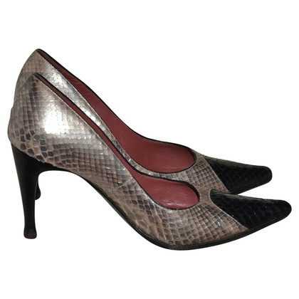 Sergio Rossi Pumps Python leather