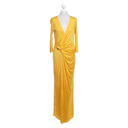 Roberto Cavalli Evening dress in yellow