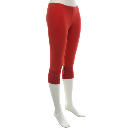Marithé et Francois Girbaud Leggings in Red