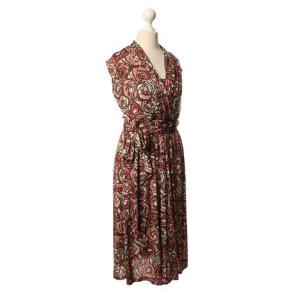 Max Mara Patroon jurk