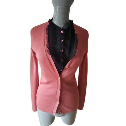 Miu Miu Cardigan met blouseinzet