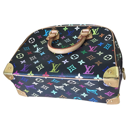 "Louis Vuitton ""TROUVILLE Monogram Multicolore Noir"""