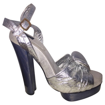 Marc Jacobs Heels in Silber