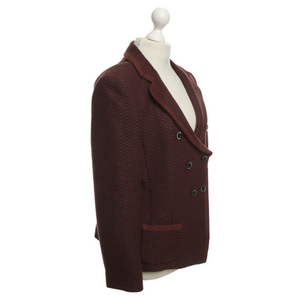 Laurèl Blazer in Bordeaux