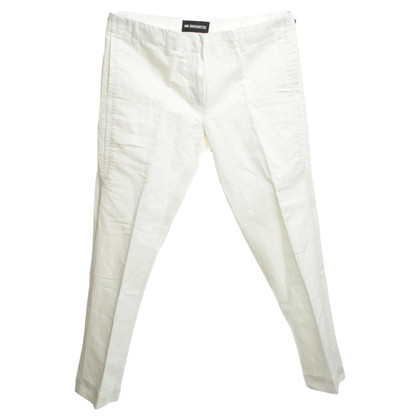 Ann Demeulemeester trousers in cream white