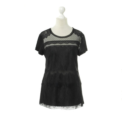 BCBG Max Azria top lace