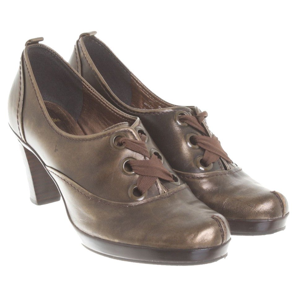 Clarks Gold colored pumps - Buy Second hand Clarks Gold ...