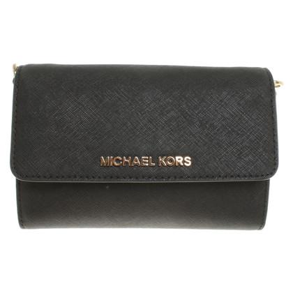 """Michael Kors """"Jet Set Travel"""" shoulder bag in black"""