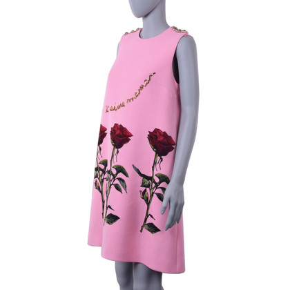 Dolce & Gabbana Dress with roses applications