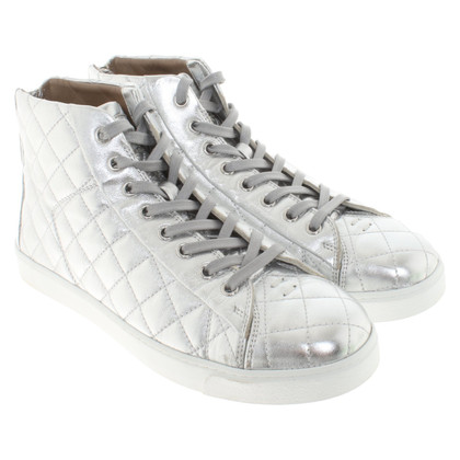 Sergio Rossi Silver colored sneakers