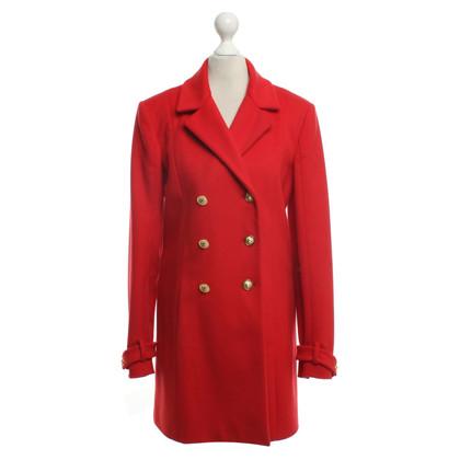 Versus cappotto classico in rosso