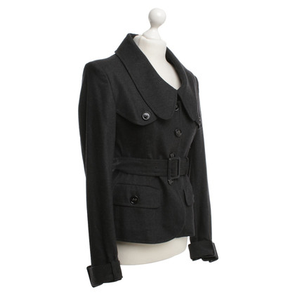 Burberry Jacke in Dunkelgrau