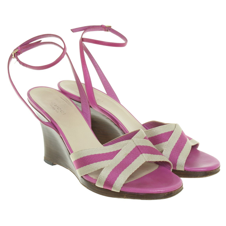 Gucci Sandals with wedge heel