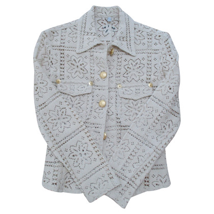 Moschino Jeans jacket with lace