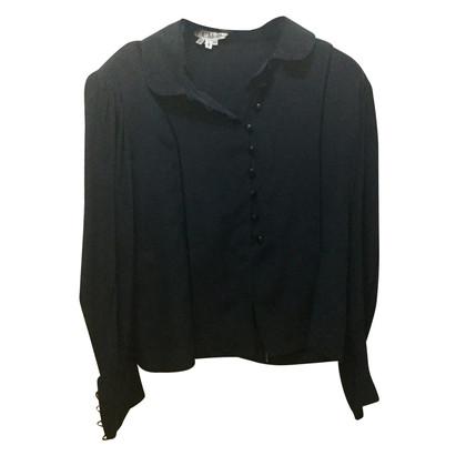 Chloé Zijden blouse in zwart