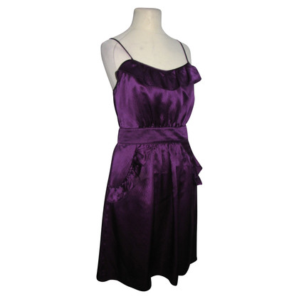 Marc by Marc Jacobs Satin dress in purple