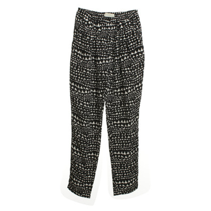 Stella McCartney Patterned trousers in silk