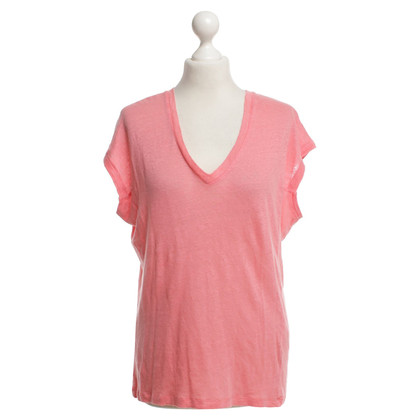 Iro T-Shirt in Korallrot