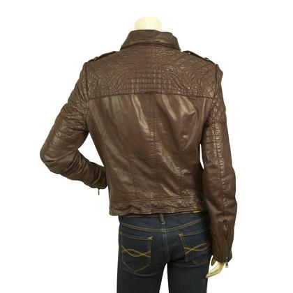 Muubaa giacca in pelle