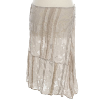 Dries van Noten skirt in light grey