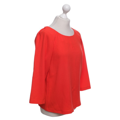 French Connection top in coral red
