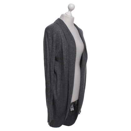 JOOP! Lange Strickjacke in Grau
